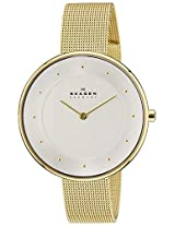 Skagen Analog Silver Dial Women's Watch - SKW2141I