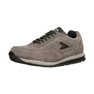 Bata Power Men's Grey Running Shoes - 8332294