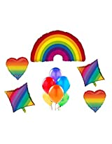 Rainbow Party Balloon Decorating Kit
