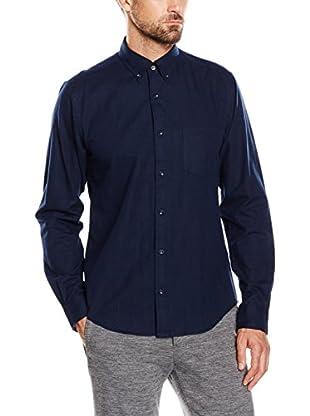 Cortefiel Camisa Hombre Franela Lisa Ctf