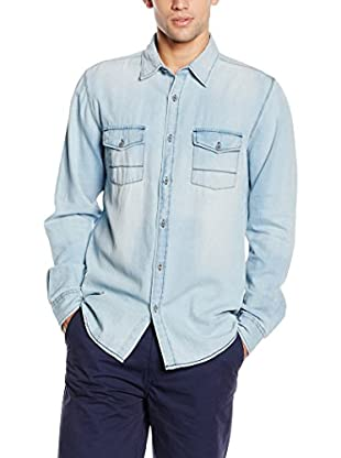 Springfield Hemd  blue denim M
