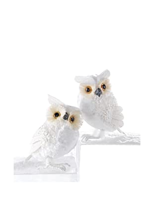 Melrose Set of 2 Owl Figurines