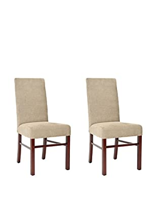 Safavieh Set of 2 Classic Side Chairs, Sage