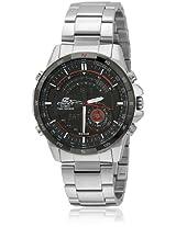 Edifice Era-200Db-1Avdr-Ex106-1 Silver/Black Chronograph Watches