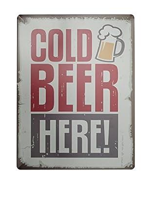 LO+DEMODA Wandbild Beer bunt