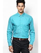 Green Full Sleeve Formal Shirt