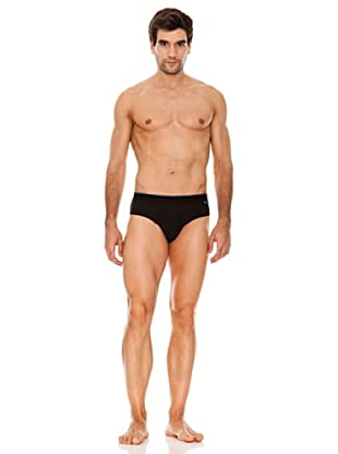 Abanderado Slip Real Cool Cotton (Negro)