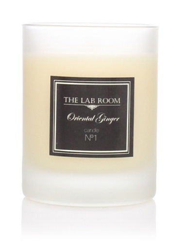 The Lab Room Aromatique Candle, Oriental Ginger, 165 gr