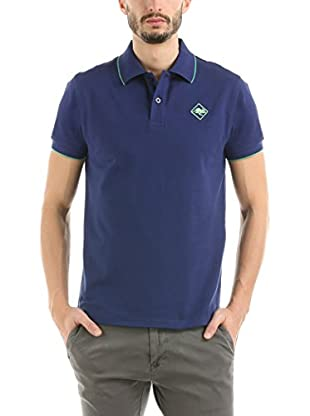 HOT BUTTERED Polo Hb Striped Azul Marino L