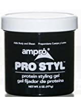 Ampro Pro Style Protein Styling Gel - 6 Oz (12 Pieces)