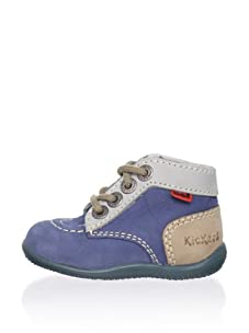 Kickers Kid's Bonbon Ankle Boot (Blue)