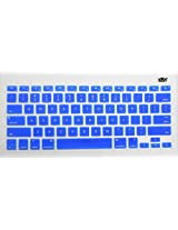 Yashi Laptop Keyboard Protector Cover DARK BLUE Color Silicone Rubber for Apple MacBook 15.4