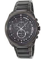 Citizen Eco-Drive Analog Black Dial Men's Watch - AT2155-58E