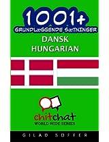 1001+ grundlæggende sætninger dansk - Hungarian