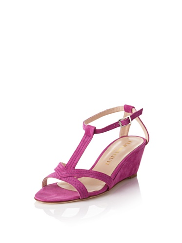 Claudia Ciuti Women's Agos Mini Wedge Sandal (Fuchsia)