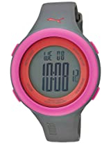 Puma Digital Pink Dial Unisex Watch - 89106304