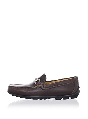 Geox Men's Fast H Moccasin (Coffee)