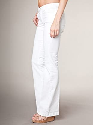 7 for all mankind Jeans Charlize Alyssum Slim Fit Flare (Weiß)