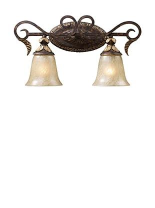 Trump Home Regency 2-Light Vanity in Burnt Bronze