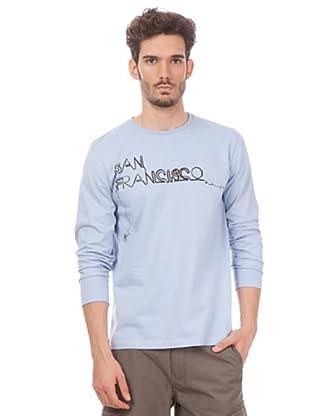 Esprit Camiseta Single (Celeste)
