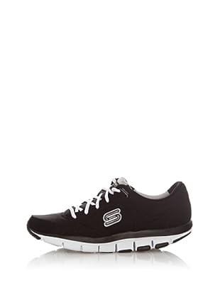 Skechers Deportivas Walking-Jogging Tecnología Liv (Negro)