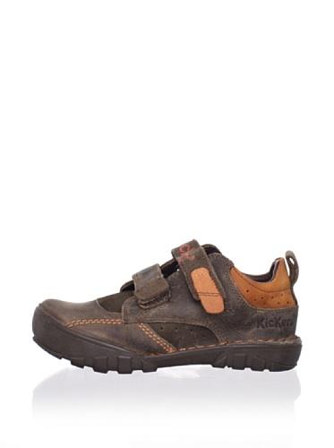 Kickers Kid's Rambo Sneaker (Toddler/Little Kid) (Brown)