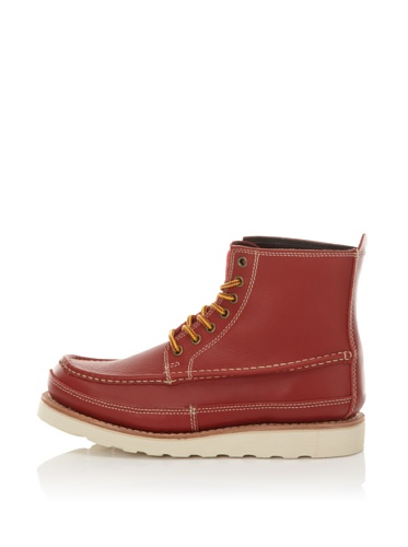 JUMP Men's Barker Ltd. Pull-On Boot (Cherry)