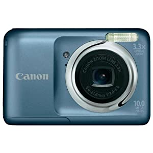 Canon PowerShot A800 10MP Point-and-Shoot Digital Camera (Grey) with 4GB Card, Camera Case