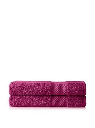 Anne de Solène Set of 2 Gourmandise Hand Towels, Mousse De Cassis, 24