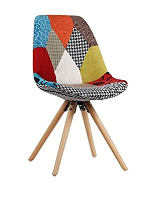 LO+DEMODA Set Silla Niño 2 Uds. Cross Multicolor