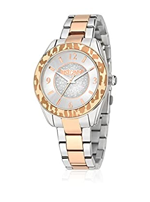 Just Cavalli Reloj de cuarzo Just Style Plateado / Rosado 37 mm