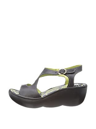 Fly London Sandalias Gilchrist (Negro)
