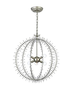 Gold Coast Lighting Lourdes Chandelier, Silver