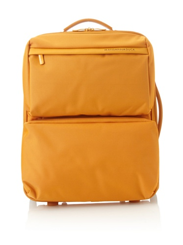 Mandarina Duck Medium Exterior Pocket Trolley with Retractable Aluminum Handle, Rame