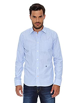 Pepe Jeans London Camisa Hombre Grand (Azul Oscuro)