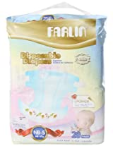 Farlin Baby New Born Diapers (28 Count)