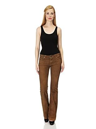 7 for all Mankind Cordhose Charlize Bootcut (Braun)