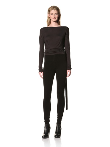 RICK OWENS Women's Stretch Pant (Black)