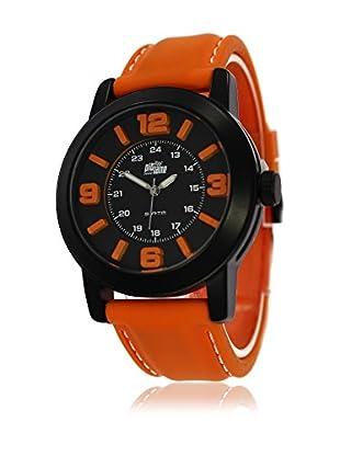 Pit Lane Uhr mit Miyota Uhrwerk Pl-3002-3 orange 44 mm