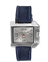 Jainx men Blue Genuine leather analogue watch JM152