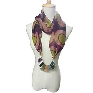 Alekhya Multicolored Silk Scarf