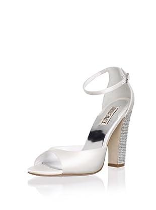 Badgley Mischka Women's Wynter Ankle-Strap Sandal (White)
