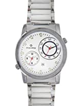 Maxima Attivo Analog White Dial Men's Watch - 22725CMGI