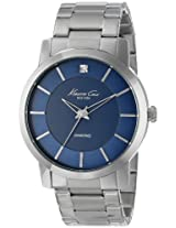 Kenneth Cole  Analog Blue Dial Men's Watch - IKC9329