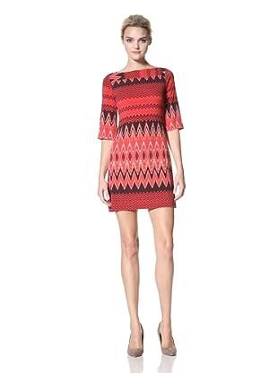 Donna Morgan Women's Phoebe Dress (Cranberry)