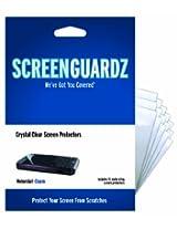 ScreenGuardz Ultra-Slim Screen Protector for Motorola Charm - 15 Pack - Transparent