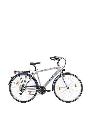 Olmo Bicicleta City 7V Hombre Gris