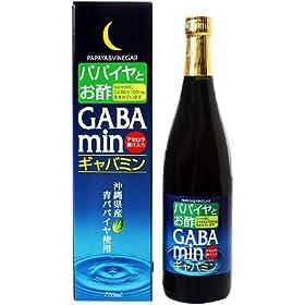 【クリックで詳細表示】オキハム ギャバミン 720ml: 食品・飲料・お酒