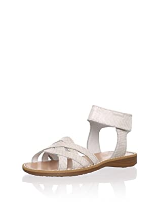 Pablosky Kid's Braided Sandal (Beige)