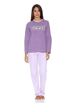 Asman Pijama Señora (Morado)
